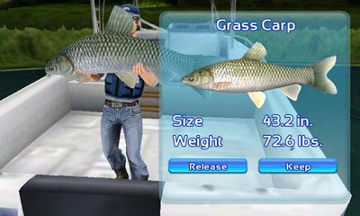 Геймплей Fishing Kings для Android телефону.