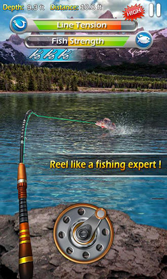 Jogue Fishing mania 3D para Android. Jogo Fishing mania 3D para download gratuito.