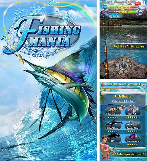 In addition to the game Russian Fishing for Android phones and tablets, you can also download Fishing mania 3D for free.
