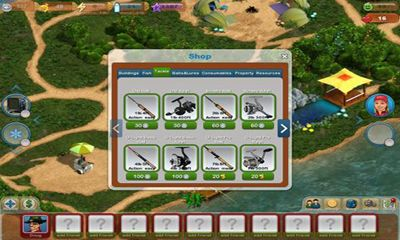 Get full version of Android apk app Fishing Paradise 3D for tablet and phone.