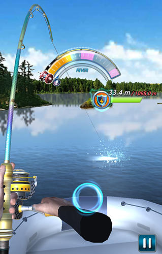 Screenshots do Fishing season: River to ocean - Perigoso para tablet e celular Android.