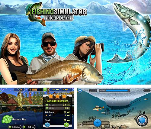 Fishing simulator: Hook and catch