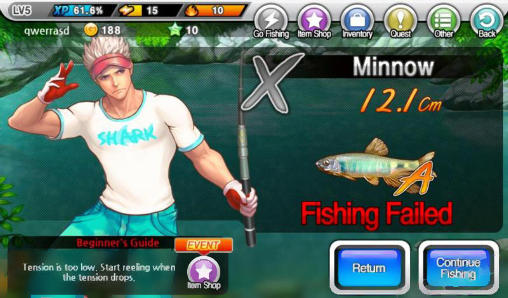 Screenshots von Fishing superstars: Season 2 für Android-Tablet, Smartphone.