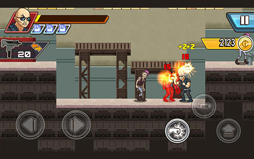 安卓平板、手机Fist of rage: 2D battle platformer截图。