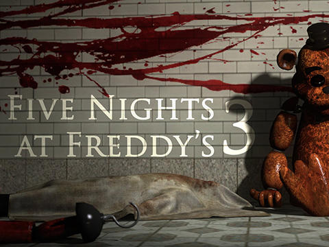 Five nights at Freddy's 3 обложка