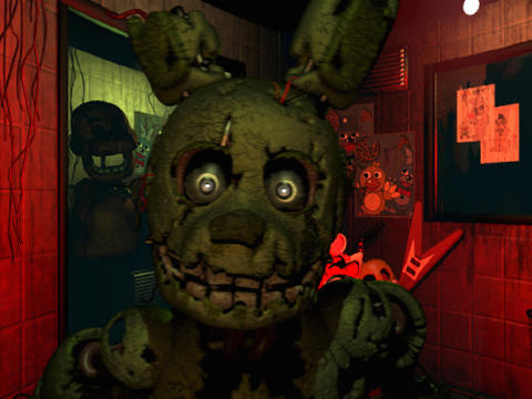 Screenshots von Five nights at Freddy's 3 für Android-Tablet, Smartphone.