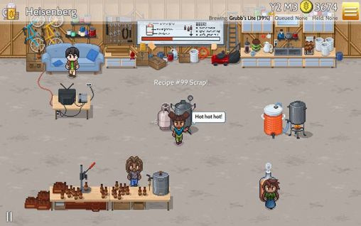 Fiz: Brewery management game screenshot 2