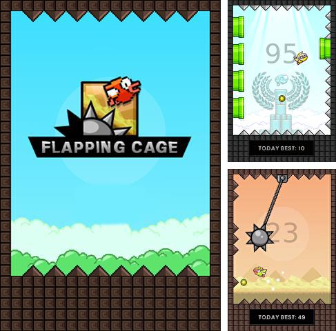 Flapping cage: Avoid spikes