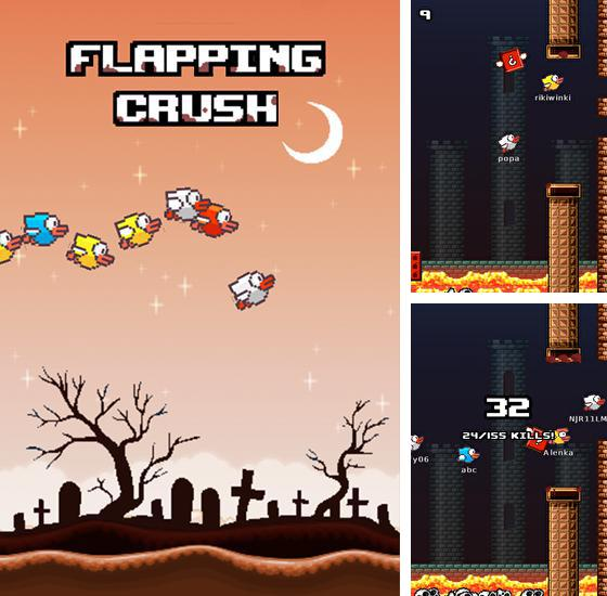 Flapping crush: Halloween bird