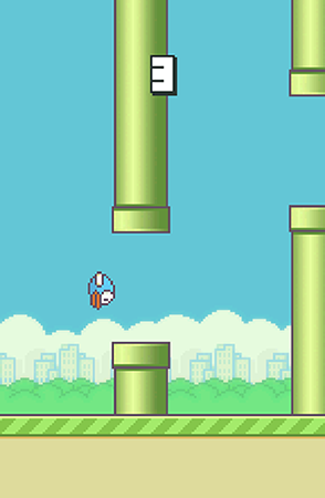 Flappy bird screenshot 1