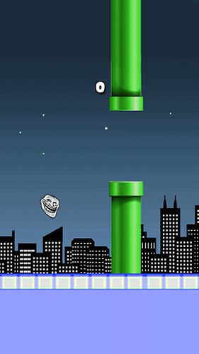 Flappy troll screenshot 1