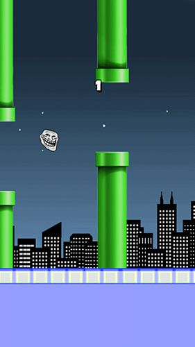 Flappy troll screenshot 2