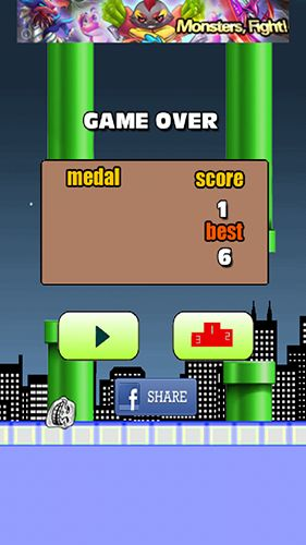 Flappy troll screenshot 3