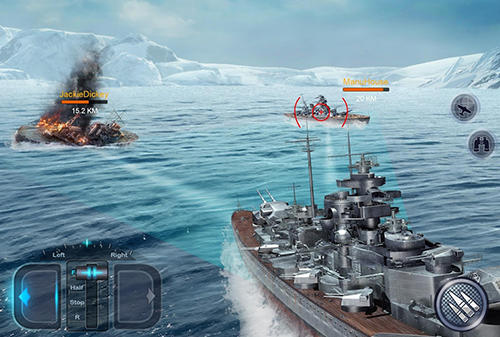 Screenshots von Fleet glory für Android-Tablet, Smartphone.