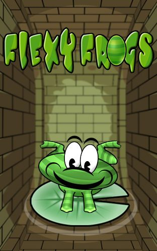 Flexy frogs poster