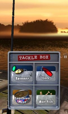 Screenshots of the Flick Fishing for Android tablet, phone.