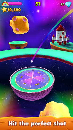 Flick golf island screenshot 2