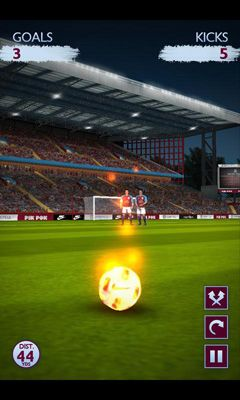 Screenshots von Flick Kick. Chelsea für Android-Tablet, Smartphone.