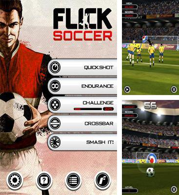In addition to the game Kick Flick Soccer Football HD for Android phones and tablets, you can also download Flick Soccer for free.