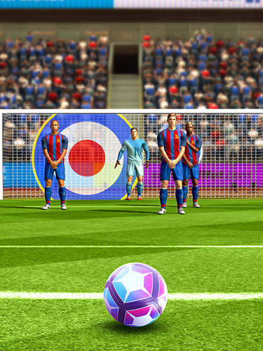 Screenshots von Flick soccer 17 für Android-Tablet, Smartphone.