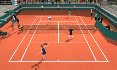 French open: Tennis games 3D. Championships 2018 скриншот 2