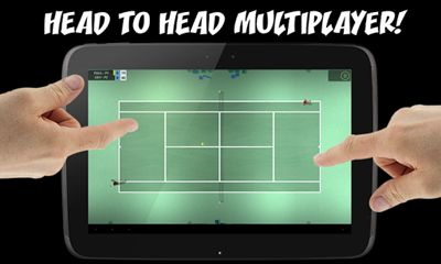Screenshots do Flick Tennis: College Wars - Perigoso para tablet e celular Android.