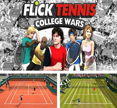 In addition to the game Cross Court Tennis for Android phones and tablets, you can also download Flick Tennis: College Wars for free.