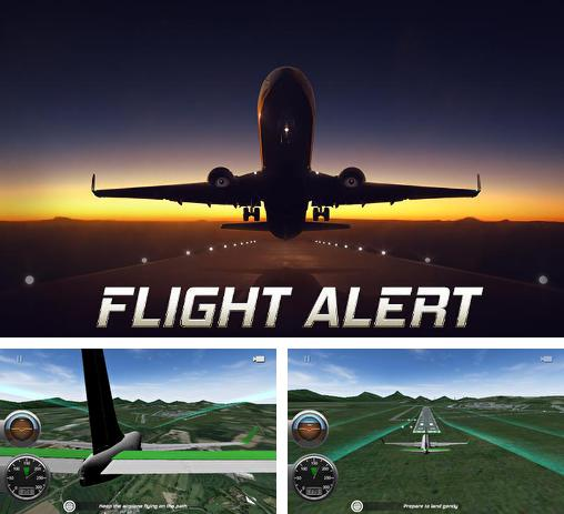 Flight alert simulator 3D