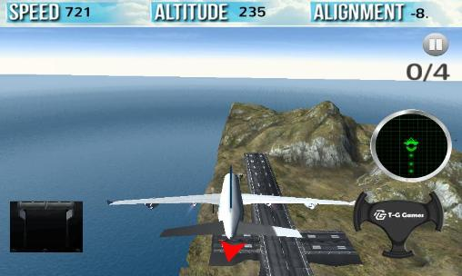 Capturas de pantalla de Flight simulator 2015 in 3D para tabletas y teléfonos Android.