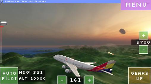 Screenshots von Flight world simulator für Android-Tablet, Smartphone.