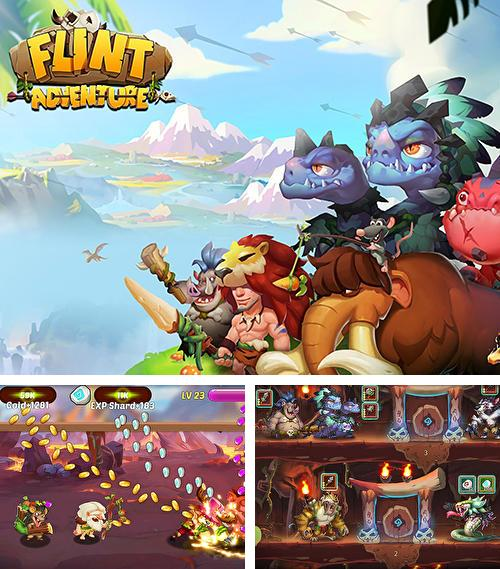 En plus du jeu Tour de France 2018 pour téléphones et tablettes Android, vous pouvez aussi télécharger gratuitement Aventures de Flint 2018: Le plus nouveau jeu simple, Flint adventure 2018: Newest idle game.