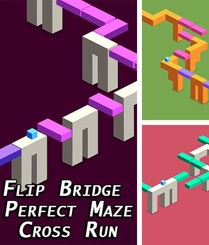 Flip bridge: Perfect maze cross run game