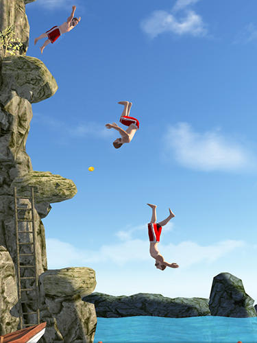 Screenshots von Flip diving für Android-Tablet, Smartphone.