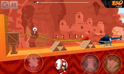 Screenshots von Flip Riders für Android-Tablet, Smartphone.