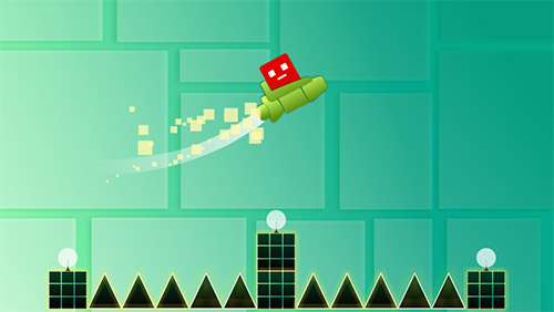 Screenshots von Swing copters für Android-Tablet, Smartphone.