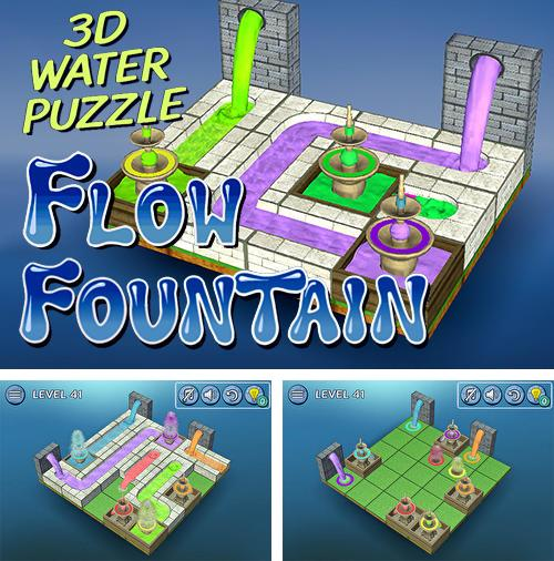 Flow fountain: 3D water puzzle