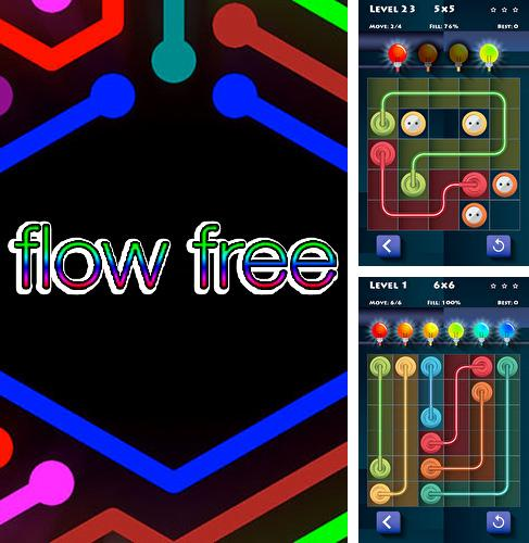 Flow free: Connect electric puzzle