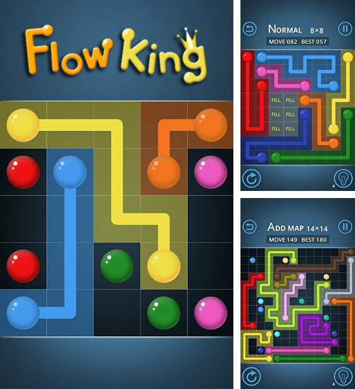In addition to the game RBKube for Android phones and tablets, you can also download Flow king for free.