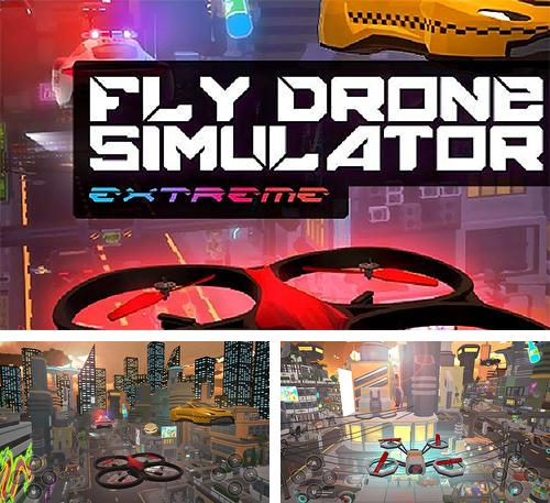Fly drone simulator extreme