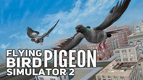Flying bird pigeon simulator 2 poster
