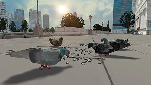 Flying bird pigeon simulator 2 screenshot 1