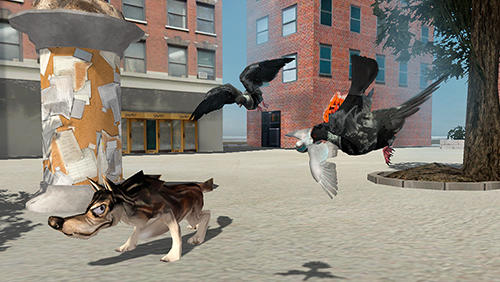 Flying bird pigeon simulator 2 screenshot 3