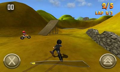 Screenshots do Crazy moto racing - Perigoso para tablet e celular Android.