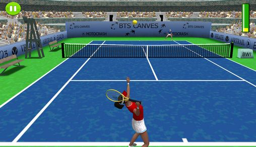 FOG Tennis 3D: Exhibition screenshot 1