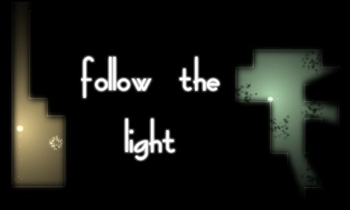 Follow the light poster