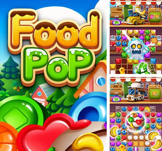 Food pop: New puzzle gravity world. Food burst 2