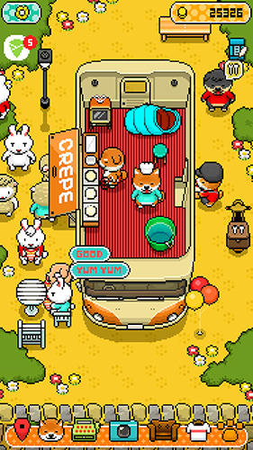 Screenshots von Food truck pup: Cooking chef für Android-Tablet, Smartphone.