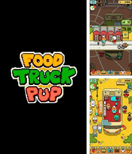 Food truck pup: Cooking chef
