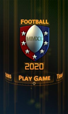 Football2020 poster