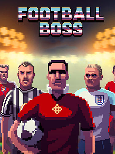 Football boss: Soccer manager poster